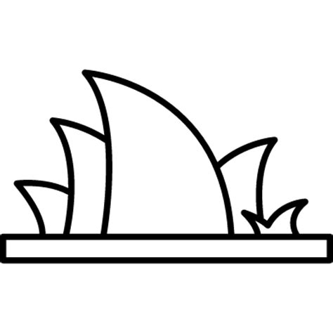 coloring page of sydney opera house opera house sydney coloring page for kids pages of great