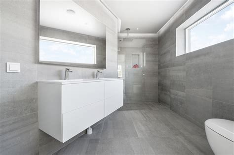 limestone bathroom ceramiche keope for a residential project in sweden