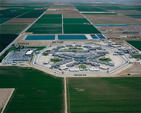 Wasco State Prison Aerial Vie    California Department
