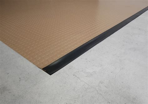Garage Floor Runner Mat by Garage Floor Matting Edge Trim By American Floor Mats