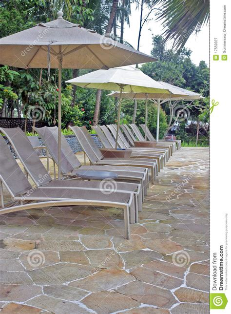 Pool Deck Chairs by Pool Deck Chairs Royalty Free Stock Photography Image