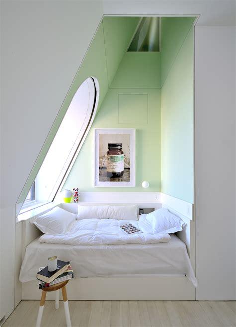 greenhouse bedroom bedroom annex in pastel peppermint green interior design