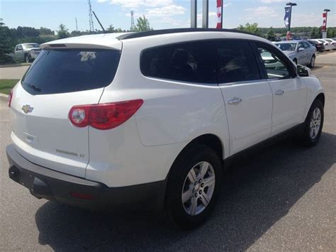 chevrolet traverse 7 seater 2012 chevrolet traverse lt 7 seater bluetooth alloys