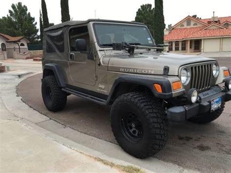 Jeep For Sale El Paso Tx 2006 Jeep Wrangler Unlimited Rubicon For Sale In El Paso