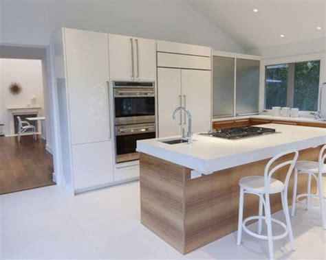 contemporary white kitchen houzz modern kitchen island houzz