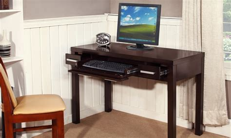 writing desk with keyboard tray groupon goods