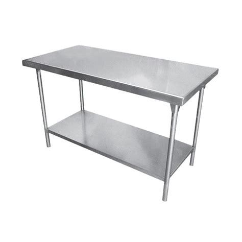 mesas de acero inoxidable para cocina mesa de trabajo de acero inoxidable aeco venta de