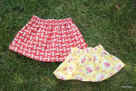 pattern free skort baby skirt pattern sewing pinterest