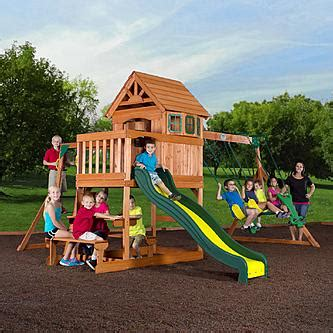 backyard discovery springboro swing set backyard discovery springboro wood swing set toys
