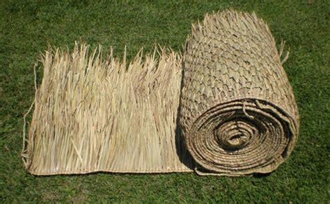 Tiki Hut Thatch Roll thatch roll materials for tiki bar hut roof contruction