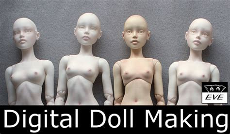 How To Make A 3d Doll Out Of Paper - 3d printing studio dolls
