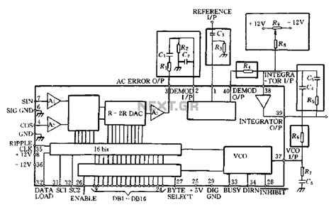 what are monolithic integrated circuit gt circuits gt 68hc11 68hc811 applications and schematics