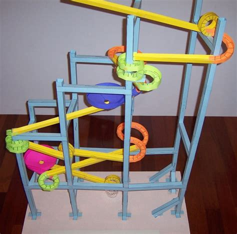 How To Make A Paper Marble Roller Coaster - paper roller coasters gallery