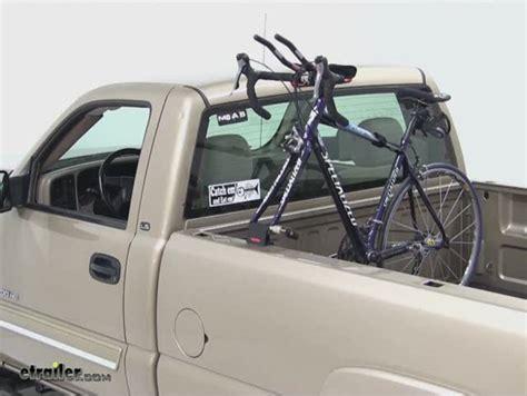 Truck Bed Bike Mount by Yakima Locking Bedhead Single Bike Truck Bed Mounted Rack