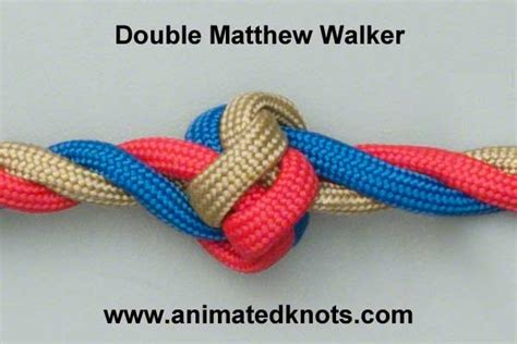 Decorative Knot Tying - knot with 4 strands rachael edwards