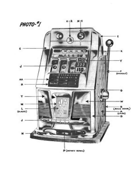 slot machine diagram slots machine parts