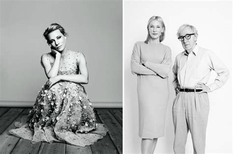 cate blanchett woody allen cate blanchett shines for uk harper s bazaar december