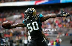 Jaguar Scores Telvin Smith Stock Photos And Pictures Getty Images