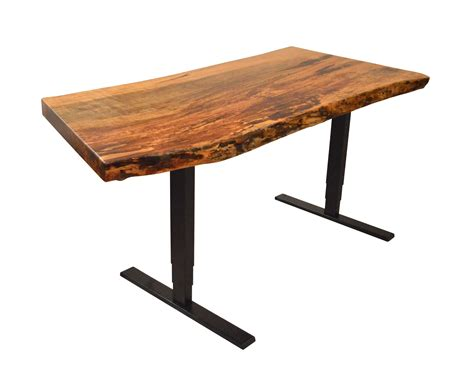 custom made desk buy a custom adjustable height desk made to order from