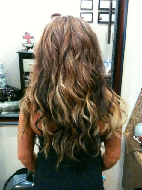 high light and low lights in hair low lights and hi lights beach wave hair hair fairy by