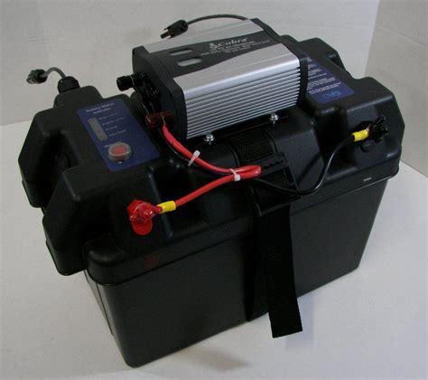 Baterai Dual Charger Sbox rv solar power generator solar inverter battery box