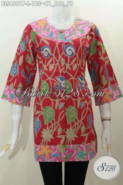 Baju Cewek Bahan Katun Ld 105 sedia baju batik fashion dengan model terbaru yang mu