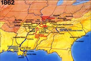us civil war timeline map american civil war battle timeline 1862