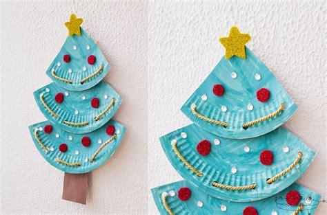 arboles de navidad manualidades infantiles manualidades de navidad para ni 241 os burbujitas