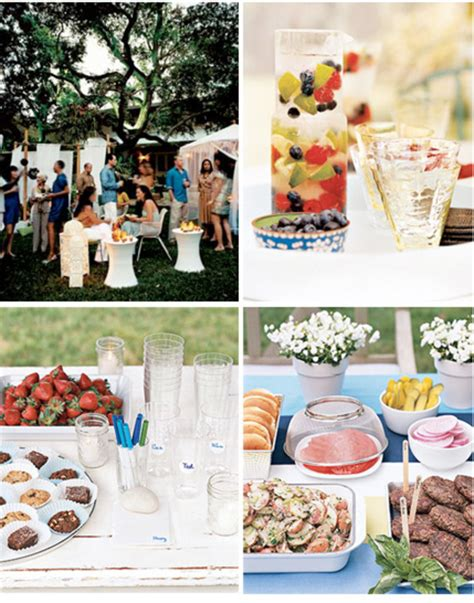 backyard party menu ideas real simple backyard party ideas at home with kim vallee