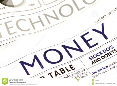 the times money section money section royalty free stock photo image 239545