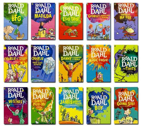 pictures of roald dahl books roald dahl 15 book collection new edition buy