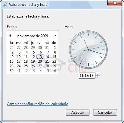 calendario para escritorio windows 7 curso gratis de windows 7 aulaclic 3 el escritorio y