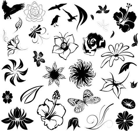 small tattoo outlines small flower tattoos ideas pictures