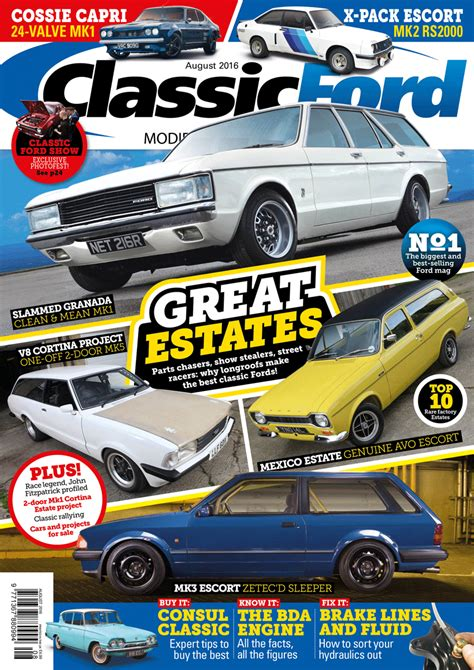 Ford Magazine Classic Ford August 2016 Issue Out Now Classic Ford