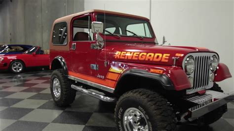 1981 jeep renegade 3237 atl 1981 jeep cj7 renegade
