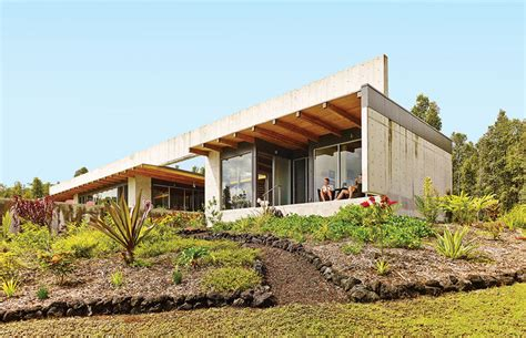House In Hawaiian | lavaflow house in hawaii by craig steely architecture