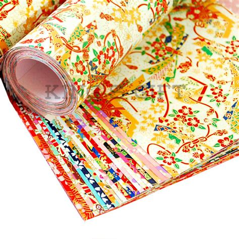 japanese paper crafts free 42 x 58cm japanese paper diy origami paper gift packing