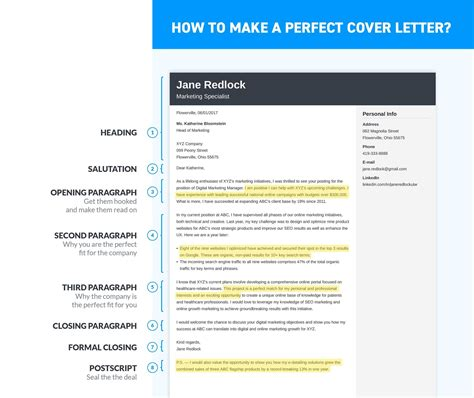 the best cover letter the best cover letter formaterfect resume exle writing