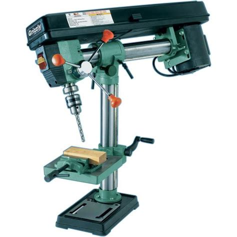 best bench drill grizzly g7945 5 speed bench top radial drill press hand