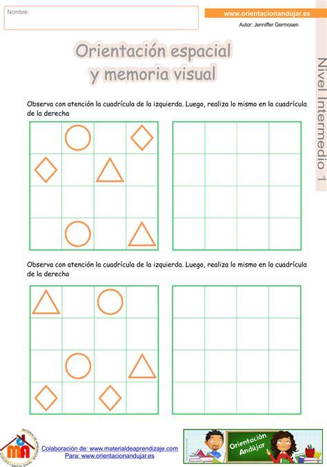 imagenes memoria visual super cuadernillo n 186 2 de orientaci 243 n espacial y memoria