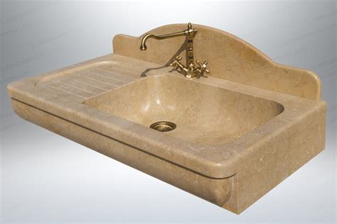 lavandino cucina marmo lavandino in pietra con gocciolatoio mod amantea in