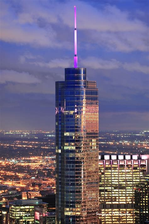 World Of Architecture Tallest Towers Trump Tower Chicago | world of architecture tallest towers trump tower chicago