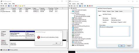 install windows 10 raid 0 solved windows 10 seeing old hdd as intel raid 0 cannot