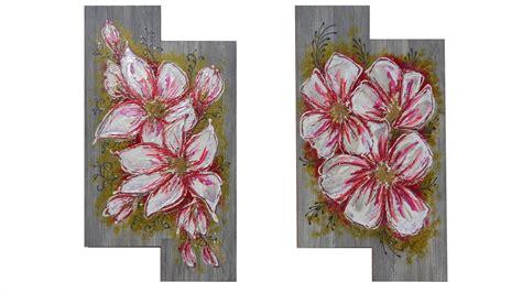 quadri astratti fiori fiori bianchi moderni vendita quadri quadri