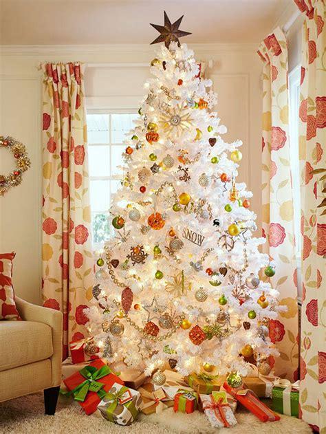 arbol d enavidad con colores naranjas 27 inspiradoras ideas para el 225 rbol de navidad