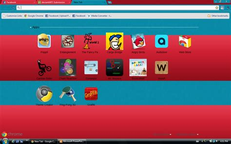 theme google chrome red red n blue google chrome by the broken 0ne on deviantart
