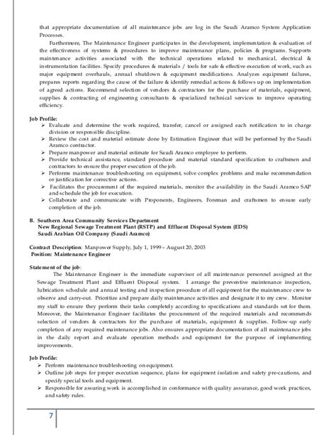 Sle Of Updated Resume 2015 Updated Resume 2015