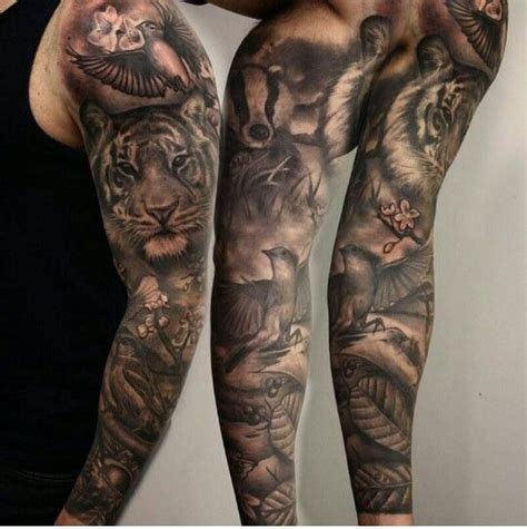 animal tattoo upper arm 34 best animal tattoo sleeve images on pinterest arm