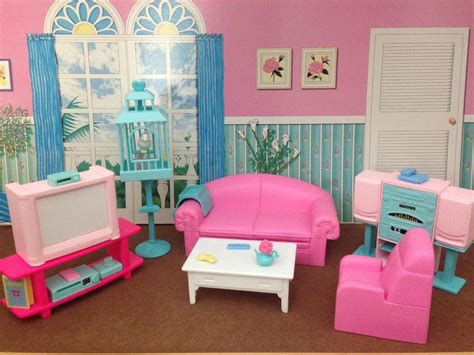 mattel barbie so much to do collection dollhouse furniture