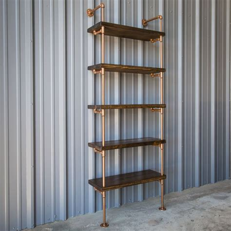 pipe shelving unit 1000 ideas about pipe bookshelf on industrial